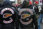 Байкеры из группировки Hells Angels. Архивное фото