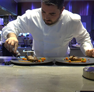 Мастер-класс азербайджанского повара со швейцарским привкусом