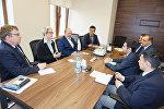 İcbari Tibbi Sığorta üzrə Dövlət Agentliyində keçirilən müzakirələr