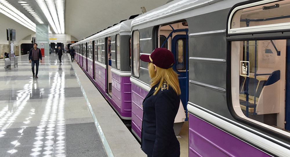 Новая ветка Бакинского метрополитена, фото из архива