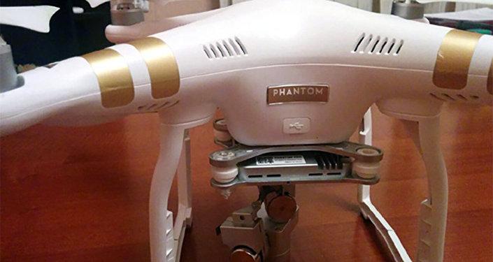 Беспилотный летательный аппарат типа DJI PHANTOM, принадлежащий ВС Армении