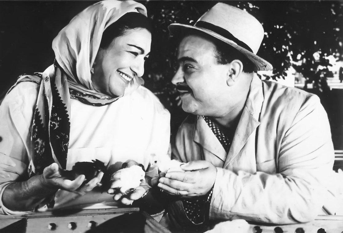 Насиба Зейналова (Зулейха) и Лютфали Абдуллаев (Мухаммед) в фильме Улдуз. 1964 год