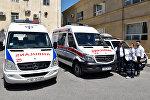 Карета скорой помощи в Баку. Архивное фото