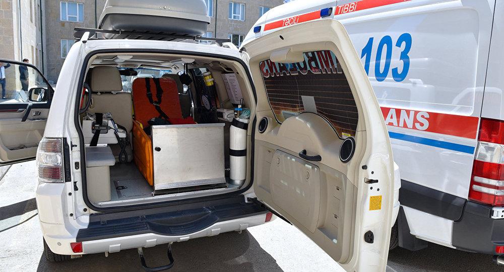 Автомобиль скорой помощи в Баку, фото из архива
