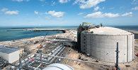 Терминал сжиженного природного газа. Архивное фото