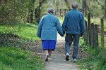 Yaşlı insanlar. Arxiv şəkli
