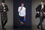 Мужская коллекция одежды от итальянского дизайнера Andrea Lazzari