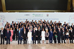 Участники VII Глобального форума Альянса цивилизаций ООН в Баку