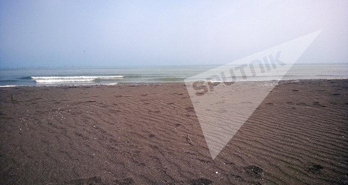 Лянкяранское побережье Каспийского моря
