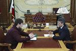 Ramzan Kadırov və Elxan Süleymanov