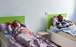 Мирные жители, раненные в результате обстрела в ночь с 27 на 28 апреля в Агдамском районе