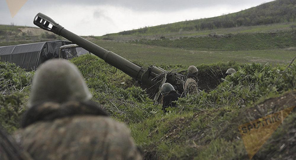 Бои в Карабахе. Архивное фото