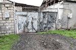 Результаты обстрела населенных пунктов Азербайджана армянскими ВС, фото из архива