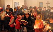Жители деревни Кётукли Гахского района, так же как и остальные православные христиане, отмечают Пасху