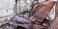 Разрушенные дома Агдамского района. Архивное фото
