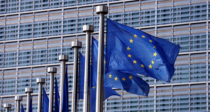 Флаги ЕС, фото из архива