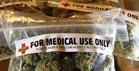 Пакеты марихуаны для использования в медицинских целях. Архивное фото