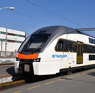 Поезд Stadler, фото из архива