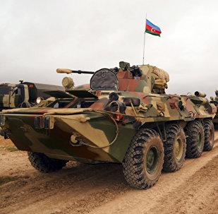 Бронетехника азербайджанских ВС. Архивное фото