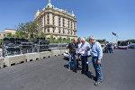 Директор гонок Формулы 1 и делегат по безопасности FIA Чарли Уайтинг в Баку