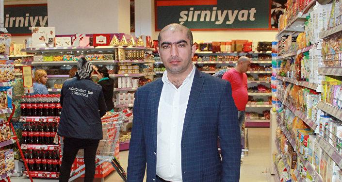 Samir Bayramov, Favorit supermarketlər şəbəkəsi Yasamal filialının müdir müavini