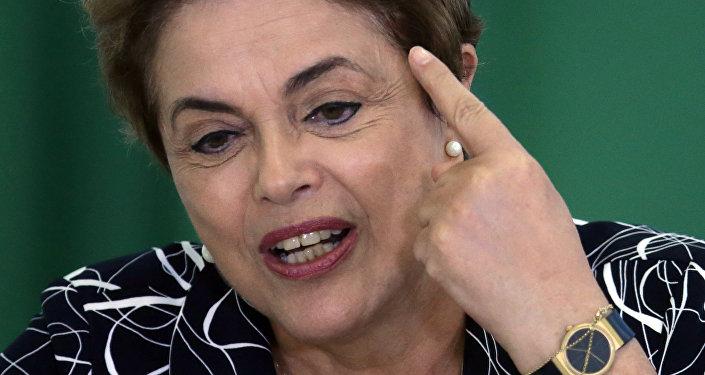 Braziliya prezidenti Dilma Rousseff