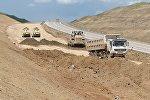Реконструируется дорога Гяндоб-граница с Россией