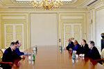Prezident İlham Əliyev Ramazan Abdulatipovun rəhbərlik etdiyi nümayəndə heyətini qəbul edib