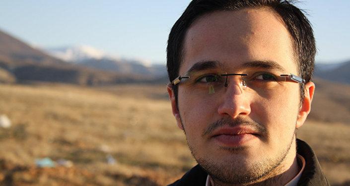 """Mehmet Fatih Öztarsu, Türkiyənin """"Strategic Outlook"""" analitik mərkəzinin həmsədri"""