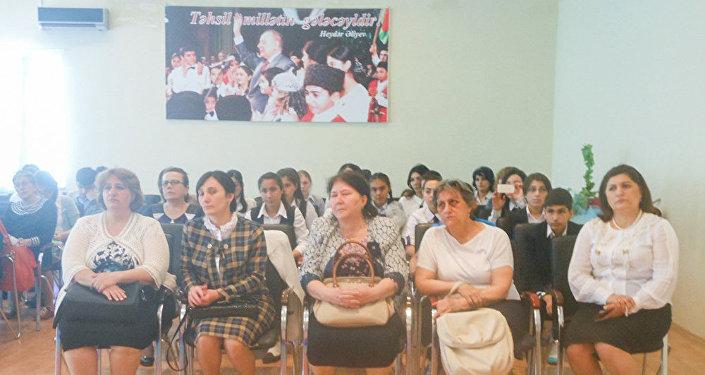 В городах Мингечевире и Уджаре прошла Олимпиада по русскому языку