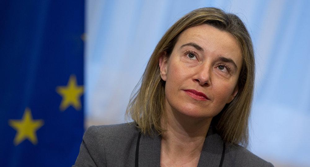 Глава дипломатии Европейского Союза Федерика Могерини