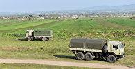 Военная техника на территории Физулинского района, фото из архива
