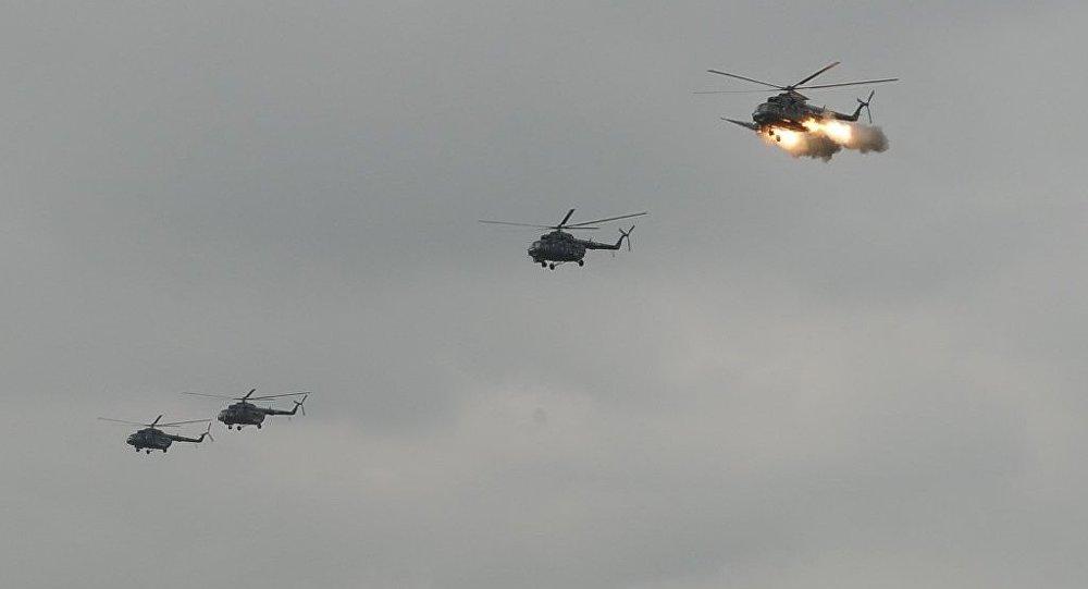 """В полевом учебном центре """"Аггель"""" с участием подразделений быстрого реагирования и сил авиации проведены крупномасштабные тактические учения"""