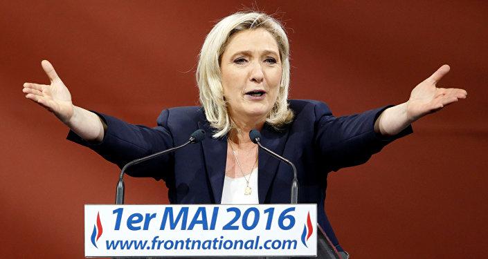 Marin Le Pen, Fransanın Milli cəbhə partiyasının lideri