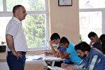 Lənkəranın 4 saylı Humanitar Təmayüllü Məktəb-Liseyində qəbul imtahanı keçirilib