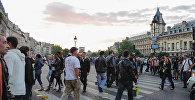 Avropada turistlər, arxiv şəkli