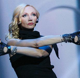 Певица Кристина Орбакайте