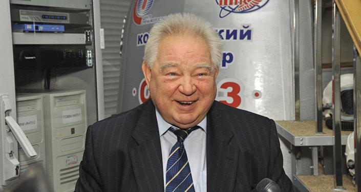 Космонавт, дважды Герой Советского Союза Георгий Михайлович Гречко