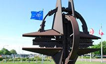 Символ NATO. Архивное фото