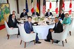 Yaponiyada keçirilən G7 sammitinin iştirakçıları