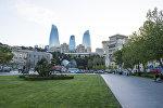 Вид на Баку