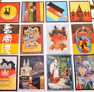 Германия глазами одного художника – выставка-конкурс в Kapellhaus