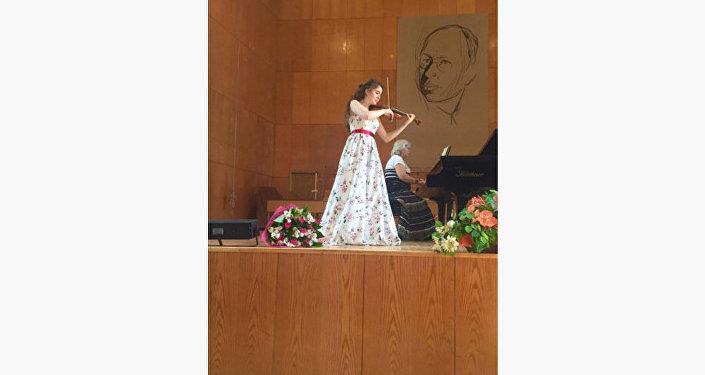 Джейла Сеидова успешно выступила на II Международном музыкальном конкурсе молодых исполнителей