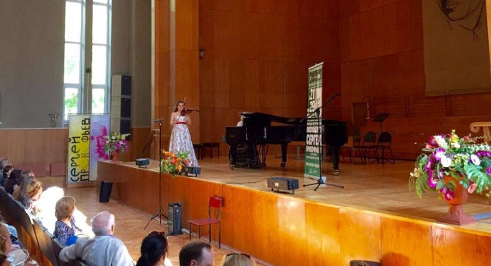 Азербайджанская скрипачка завоевала Гран-при в Москве