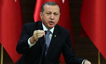 Реджеп Тайип Эрдоган, президент Турции. Архивное фото