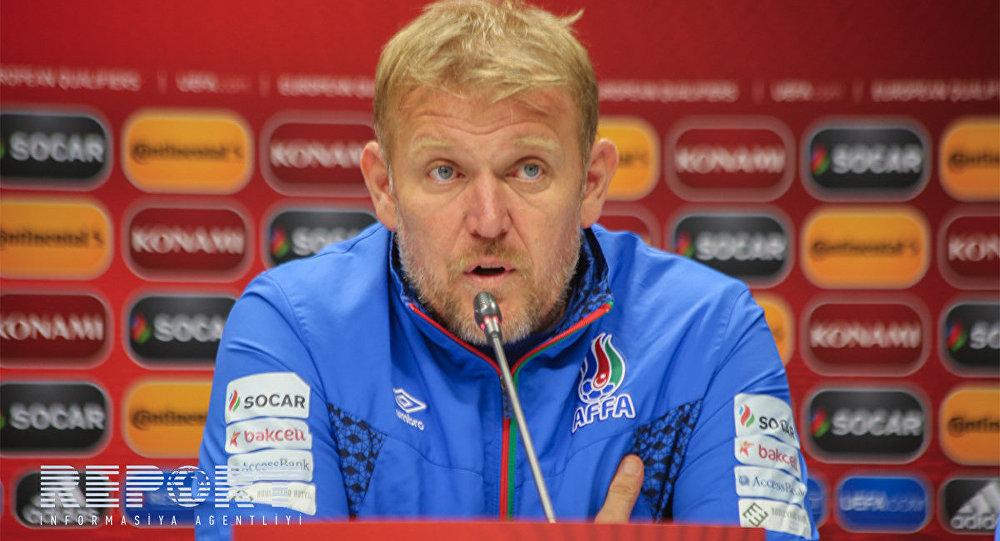 Robert Prosineçki, Azərbaycan milli futbol komandasının baş məşqçisi