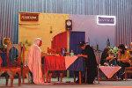 Dərbənd Azərbaycan Dövlət Dram Teatrının səhnəsində Ac həriflər tamaşası