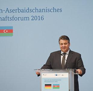 Almaniya Federativ Respublikasının vitse-kansleri, iqtisadiyyat və enerji naziri Ziqmar Qabriel
