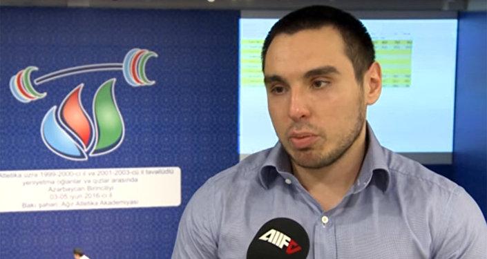Azər Əliyev, Azərbaycan Ağır Atletika Federasiyasının vitse-prezidenti