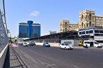 Подготовка к гран-при Европы по Формуле-1 в Баку, фото из архива